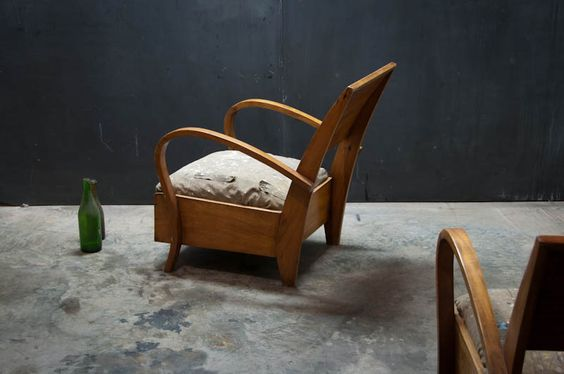 French Campaign Lounge Chairs : Factory 20