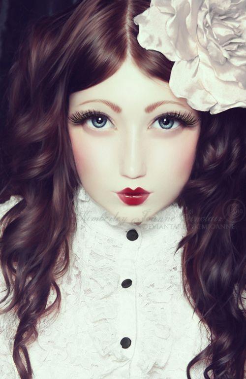 Porcelain Doll costume | holidays | Pinterest | Porcelain doll ...