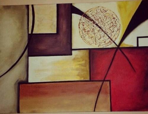 cuadros abstractos en oleo a buen precio
