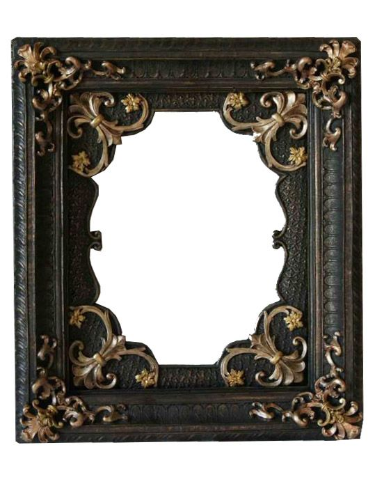Gothic victorian frame 01 by on