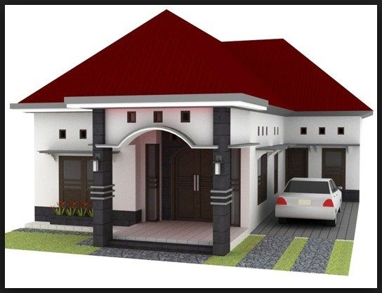 Desain Teras Limas Minimalis Di 2020 House Blueprints Desain Rumah Desain