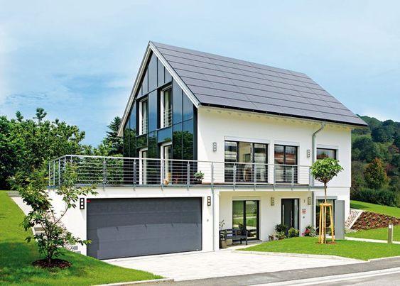 """Plusenergiehaus """"Walz"""" von Fertighaus Weiss"""