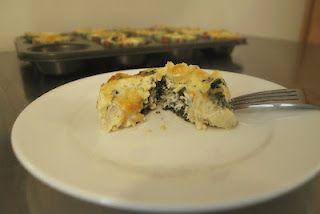 Kale & Artichoke Quiche Cupcakes | Food: Savory | Pinterest | Quiche ...