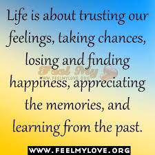 appreciating life