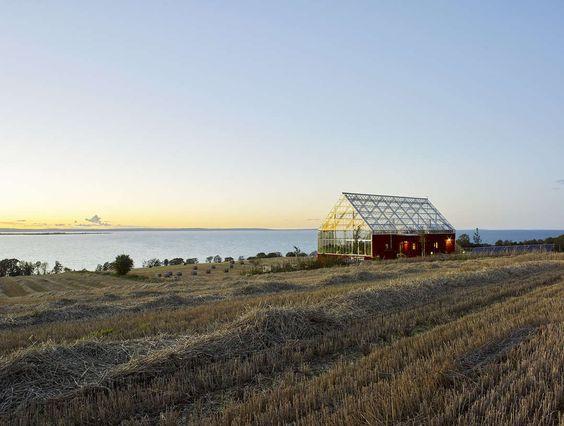Uppgrenna Naturehouse on Architizer