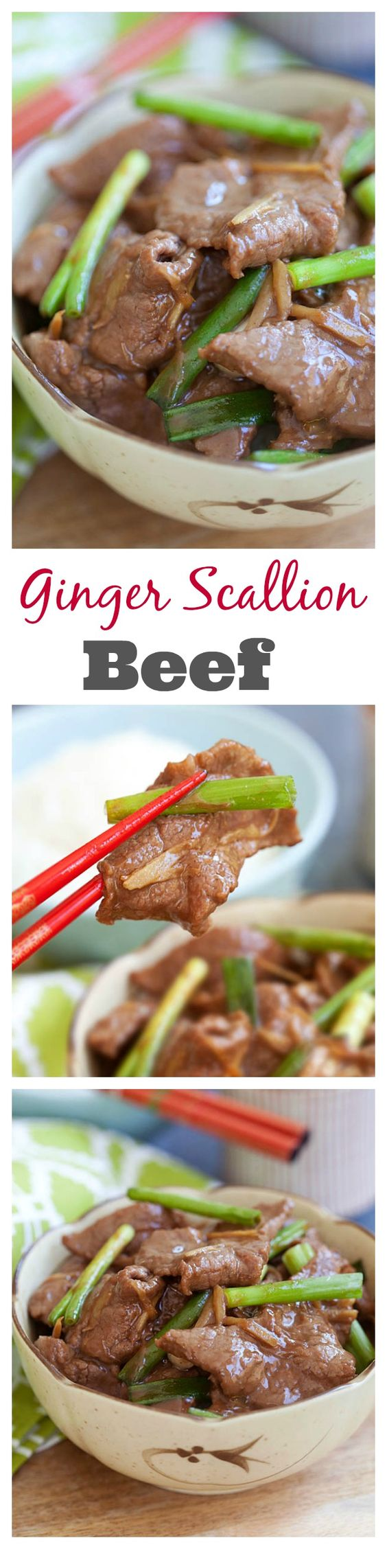 ginger and scallion beef recipe. Make ginger and scallion beef ...