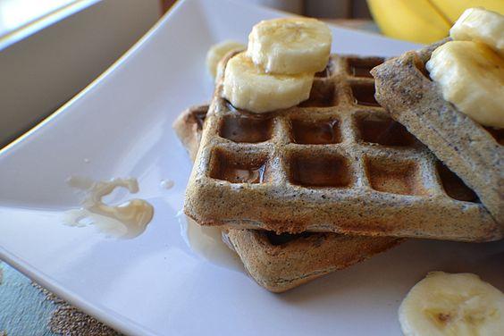 Blue Cornmeal Waffles | breakfast | Pinterest | Waffles and Blue