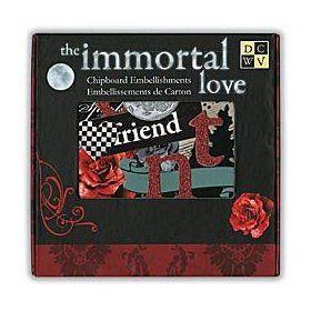 DCWV Immortal Love Box of Chipboard $12.21