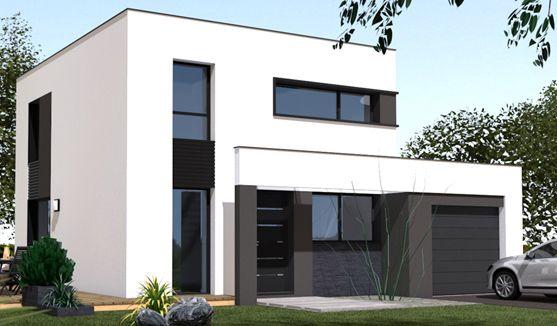 Resultats De Recherche D Images Pour Plan Maison Cube Toit Plat Modern House Plans House House Design