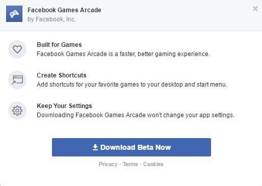 Скачать facebook games arcade.