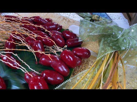 حلى البلح احلى ضيافة خاصة لصاحبات المشاريع والأفراح وابسط حلى لربات البيوت Youtube Fruit Food Cherry