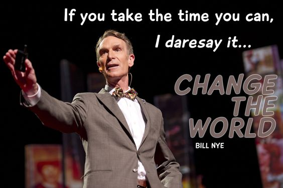 Billy Nye at TED2012. Photo by James Duncan Davidson.