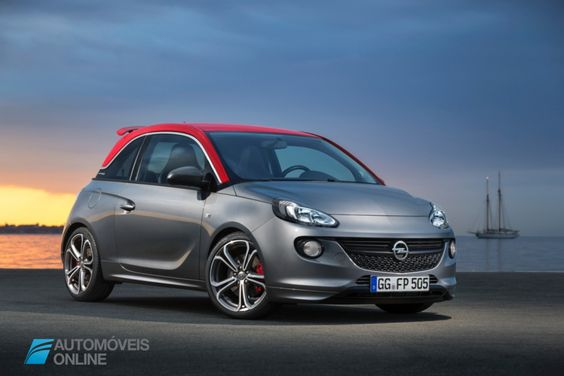 New Opel Adam S 150 CV Right front quarter view 2015 Automoveis-Online