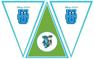Free Monsters University Printables