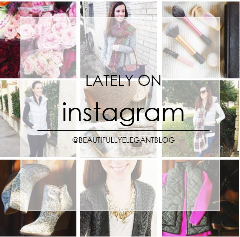 What's been happening lately on my instagram...Check it out www.beautifullyelegantblog.com
