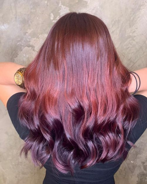 16 Stunning Bright Red Hair Colors To Get You Inspired Bright Red Hair Red Purple Hair Red Hair Color