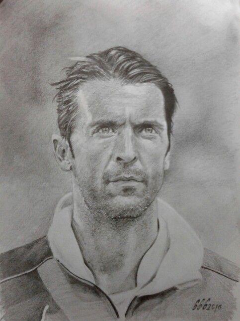 Pencil Drawing Gianluigi Buffon