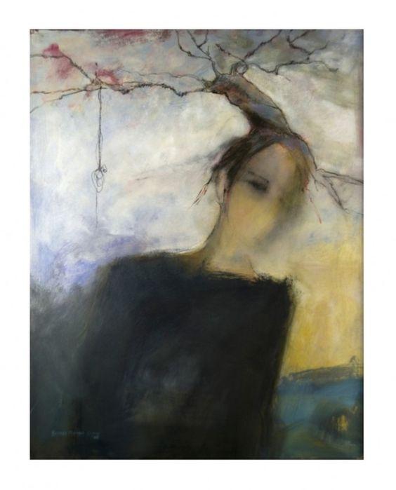 ♀ Painted Art Portraits ♀  Harriet M. Goode   Tree Woman