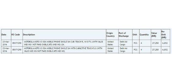 Moto X3 wird mit 5-Zoll-Display durch Import Listing gesichtet - http://dastechno.com/moto-x3-wird-mit-5-zoll-display-durch-import-listing-gesichtet/