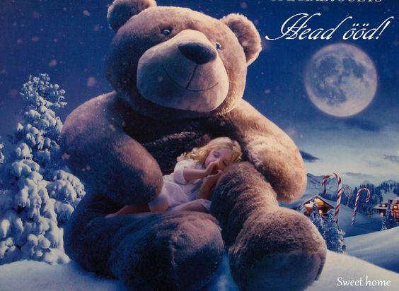 ♥Magusaid unenägusid! Sweet dreams! Bonne nuit!