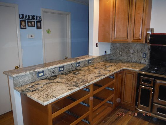 High Quality Exodus White Granite Kitchen Countertop Install For The Davis Family.  Knoxvilleu0027s Stone Interiors. Showroom Located At 3900 Middlebrook Pike,  Knoxvu2026