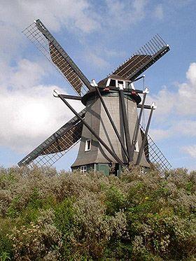 Flour mill De Oude Molen, Kruiningen, the Netherlands