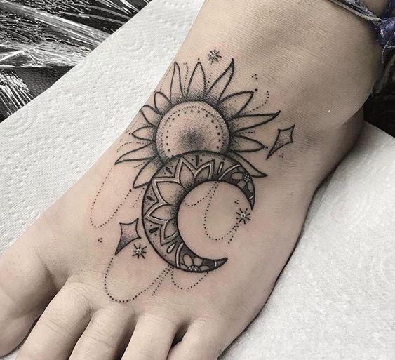 Tatuagens no Pé +De 70 Modelos | Tatuagens - Ideias
