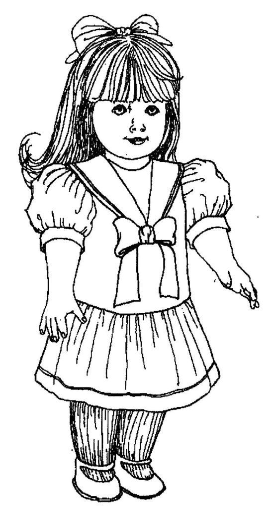 American Girl Coloring Pages American Girl Doll Pictures