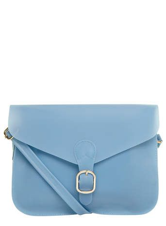 Blue jelly style satchel bag - View All Accessories - Accessories