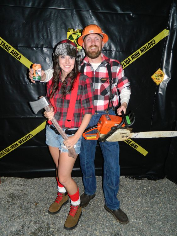 LumberJack u0026 LumberJill | Halloween costumes | Pinterest | Lumberjacks and Costumes