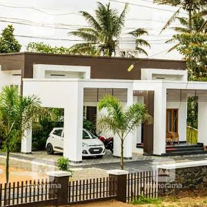 5 Cent Eco Friendly 3 Bedroom Home Design With Free Home Plan Free Kerala Home Plans In 2020 Kerala House Design Kerala Houses Contemporary House Plans
