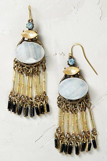 Gilded Fringe Earrings