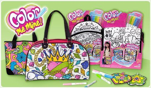 Color Me Mine Messenger Bag by Color Me Mine, http://www.amazon.com/gp/product/B003NQX5BY?ie=UTF8=213733=393177=B003NQX5BY=shr=abacusonlines-20&=arts-crafts=1355710363=1-3 via @amazon