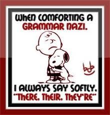 Grammar Nazi: Grammar Nazi, Crack, Deep Breath, My Sister, Kid