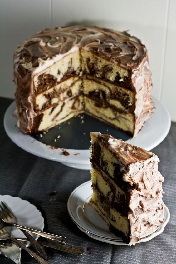 Hummingbird on High: The Brown Betty Bakery's Marble Pound Cake