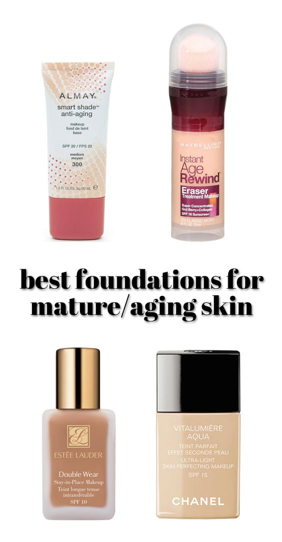 What is best foundation for mature skin