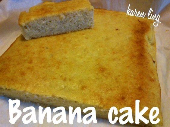簡易香蕉蛋糕