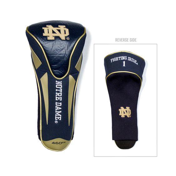 New! Notre Dame Fighting Irish Single Apex Jumbo Headcover #NotreDameFightingIrish