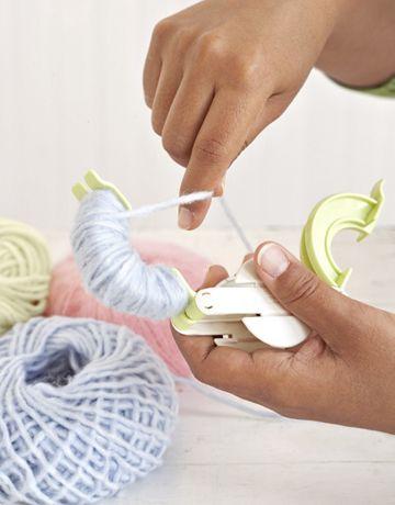 Pom Pom Maker Pom Poms And Wool Yarn On Pinterest
