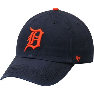 Detroit Tigers '47 Franchise Fitted Hat - Navy/Orange