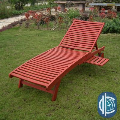 Breakwater Bay Sandy Point Chaise Lounge Finish: