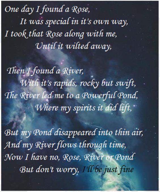A Doctor Who poem A SAD Doctor Who poem.