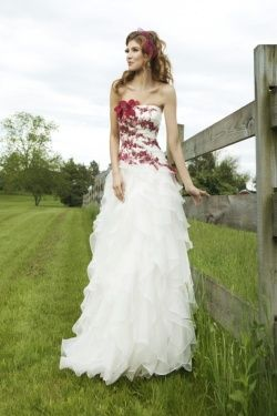 wedding dress with leaves - Google Search