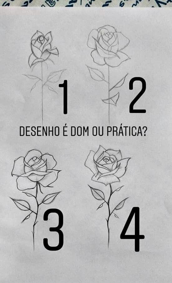 Neo De Damskater Romero Desenho De Rosas Referencia De Desenho