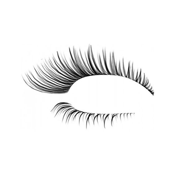 Eyelash photoshop template designs liked on polyvore featuring eyes makeup doll parts dolls for Eyelash template