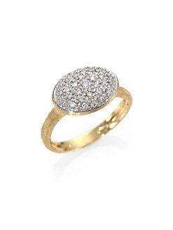 Marco Bicego - Siviglia Diamond & 18K Yellow Gold Ring