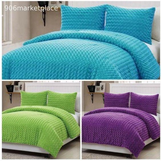 Girls Comforter Sets Green Bedding And Aqua Blue On Pinterest