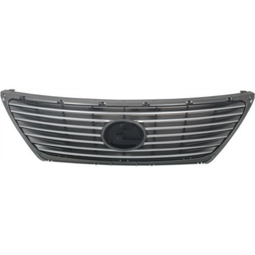 2007-2009 Lexus LS460 Grille, Silver Shell/gray Insert