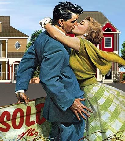 Love the vibe, the colors, the passion, the clothes. Thinkin' I'll do a retro 50s thing on book tour...