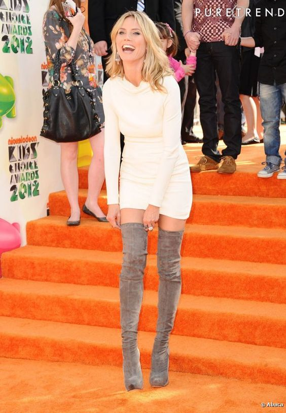 PHOTOS - Heidi Klum lors des Kids Choice Awards 2012 à Los Angeles ...